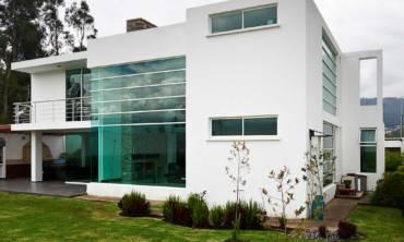 modern looking house